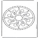 Knutselen Borduurkaarten - Borduurkaart 6
