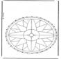 Borduurkaart Mandala 1