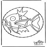 Knutselen Borduurkaarten - Borduurkaart Pokemon