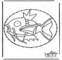 Borduurkaart Pokemon