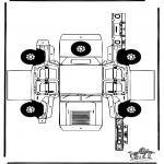 Knutselen - Bouwplaat Hummer