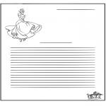 Knutselen - Briefpapier Assepoester