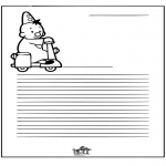Knutselen - Briefpapier Bumba