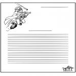 Knutselen - Briefpapier Harry Potter