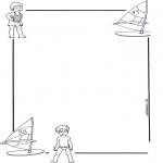 Knutselen - Briefpapier kind