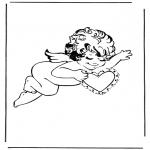 Thema Kleurplaten - Cupido 3