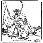 Kleurplaten Bijbel - De goede Herder 3