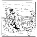 Kleurplaten Bijbel - De Herder