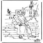Kleurplaten Bijbel - De verloren zoon 5
