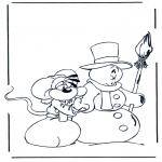 Stripfiguren Kleurplaten - Diddl 15