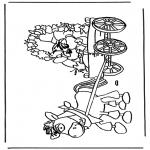 Stripfiguren Kleurplaten - Diddl 39
