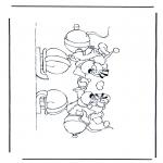Stripfiguren Kleurplaten - Diddl 40