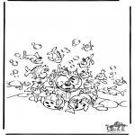 Stripfiguren Kleurplaten - Diddl 49