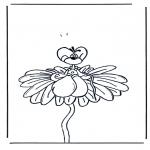 Stripfiguren Kleurplaten - Diddl 6