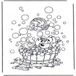 Stripfiguren Kleurplaten - Diddl kleurplaten