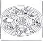 Dieren Mandala 2