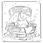 Stripfiguren Kleurplaten - Dombo 1