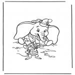 Stripfiguren Kleurplaten - Dombo 3