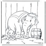 Stripfiguren Kleurplaten - Dombo 4
