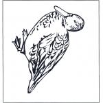 Kleurplaten Dieren - Eend 4