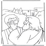 Kleurplaten Bijbel - Efata, Jezus geneest
