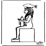 Allerlei Kleurplaten - Egypte 3