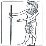 Allerlei Kleurplaten - Egyptenaar 1