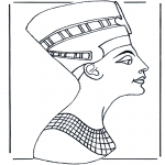 Allerlei Kleurplaten - Egyptenaar 2