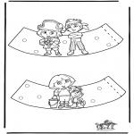 Knutselen - Eierdopje Dora