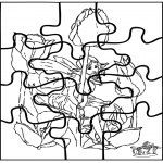 Knutselen - Elfje Puzzel