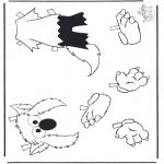 Knutselen - Elmo's kleren 2