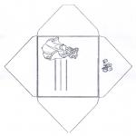 Knutselen - Envelop Assepoester 1