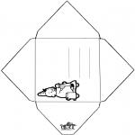 Knutselen - Envelop Bumba