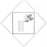Knutselen - Envelop Eenhoorn