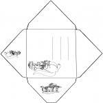 Knutselen - Envelop Kangoeroe