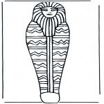 Allerlei Kleurplaten - Farao doodskist