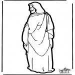 Knutselen - Figuurzagen Jezus