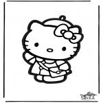 Knutselen - Figuurzagen Kitty