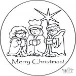 Kerst Kleurplaten - Fijne Kerstdagen