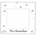 Knutselen - Fotolijstje voor oma