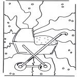 Thema Kleurplaten - Geboorte 1