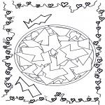 Mandala Kleurplaten - Geomandala 12