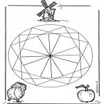 Mandala Kleurplaten - Geomandala 2