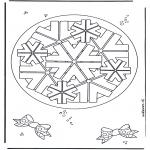 Mandala Kleurplaten - Geomandala 8