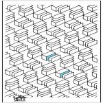 Allerlei Kleurplaten - Geometrische vormen 12