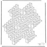 Allerlei Kleurplaten - Geometrische vormen 3