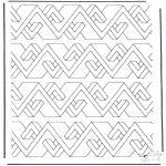 Allerlei Kleurplaten - Geometrische vormen 8