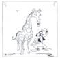 Giraffe en Goofy