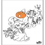 Thema Kleurplaten - Halloween 10