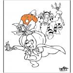 Thema Kleurplaten - Halloween 11